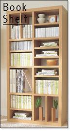 本棚や書棚のイメージ画像